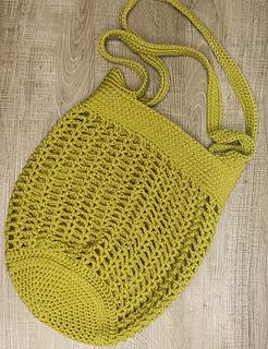 Hazel Market Bag: Medium Size with the Double Shoulder Straps