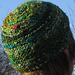 recycled silk or silk and banana fibre beanie pattern