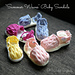 """Summer Waves"" Baby Sandals pattern"