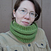 """Purl Illusions"" Cowl pattern"