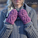 Hourglass Cabled Fingerless Mitts & Mittens pattern