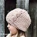 Textured Twist Cabled Beanie & Slouch pattern