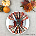 Turkey Napkin Ring & Flatware Holder pattern