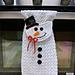 Snowman Kitchen Towel pattern