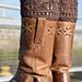 Leaves Boot Cuffs pattern