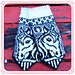 Irma horse mittens pattern