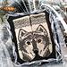 Wolfie mittens pattern