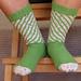 Banksia Spiral Socks pattern