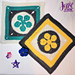 Bright Star Square pattern