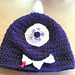 Purple People Eater Beanie pattern