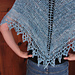 Simple Knit Triangle Shawl pattern