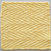 Dishcloth ~ Herringbone Linen pattern