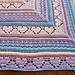 Bumpy road to love shawl pattern