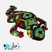 Gaudí the African Flower Salamander pattern
