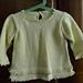Picot Edged Sweater pattern