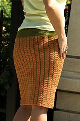 It Girl Pinstriped Pencil Skirt - VI