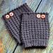 Thermal Boot Cuffs pattern
