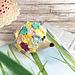 Flower hedgehog toy pattern