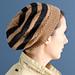 Slouchy Striped Hat pattern