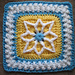 """Precious 6"""" and 9"""" Afghan Square pattern"""