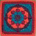 Elizabeth Rose Afghan Square pattern