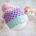 Cupcake Puff Hat pattern