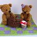 Picnic Teddy Bears pattern