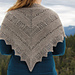 Follow Your Arrow Shawl pattern