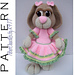 SA018 - Peeps Little Girl Bunny pattern