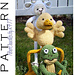 SG007 - Springtime Friends (Set 2) pattern