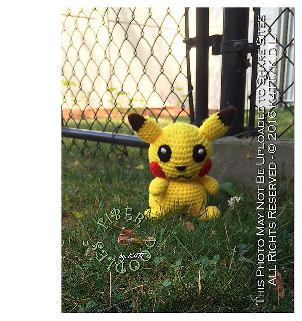 Crochet Pikachu Toys Hand Made Crochet Amigurumi Dolls Pokemon ... | 640x601