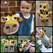 My first puppets: Geraldine Giraffe pattern