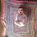 Chocolate Box Twist Baby Blanket pattern