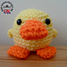 Doodle Zoo 1: Doodle the Duckling pattern