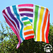 Boxing Rainbows Blanket pattern