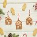 Hanging Haus Ornaments pattern