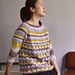 #31 Lace Raglan Pullover pattern
