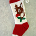 Rudolph Christmas Stocking pattern