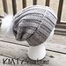 Simple and Sleek Slouch Hat pattern