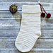The Laurel Christmas Stocking pattern