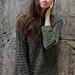 Woven Palm Sweater pattern