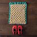Emerald City Dishcloth pattern