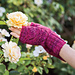 Heart Lace Mitts pattern