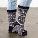 Finestre Socks pattern