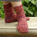 Short Wave Socks pattern