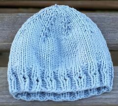 Eyelet Rib Preemie Hat