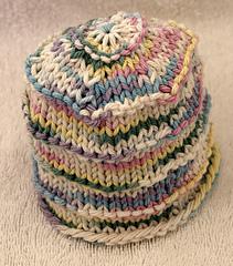 Cupcake Preemie Hat