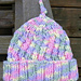 Angled Rib Preemie Hat pattern