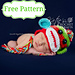 Newborn Colorful Sock Monkey Hat Pattern pattern