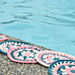 Sunday at the Pool Coasters pattern